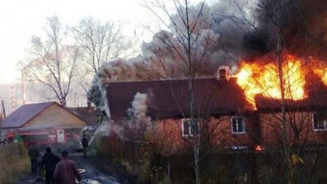 Под Костромой в пожаре погибли 3 ребенка