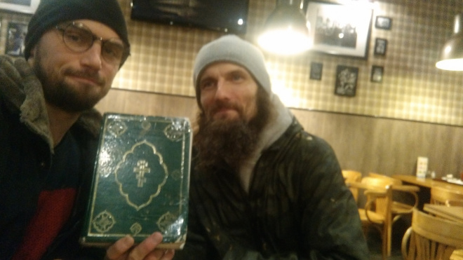 Петербуржец стал бомжом, чтобы помочь бездомным