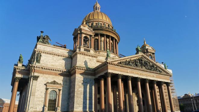 Воскресенье Петербург встретит погодой без осадков