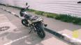 На Колпинском шоссе мотоциклист серьезно пострадал ...