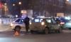 На проспекте Металлистов полицейский автомобиль попал в ДТП