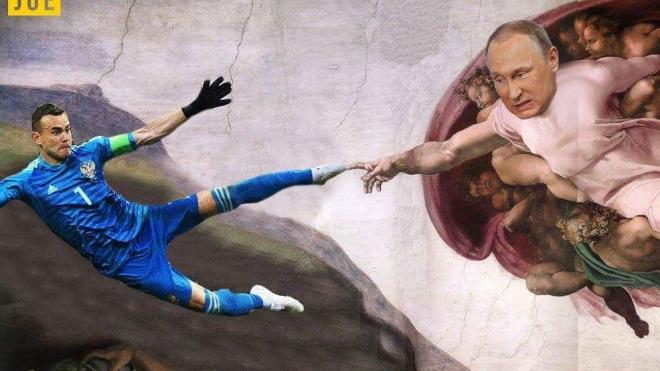 Игорь Акинфеев стал героем новых мемов