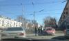 Тройное ДТП произошло на Ленинградской площади в Омске