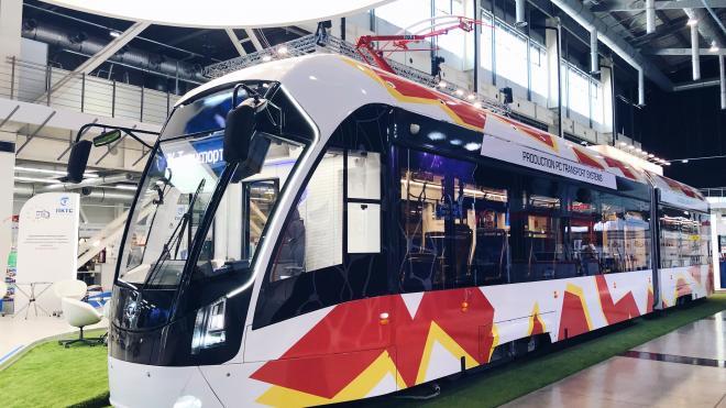 Собранный в Петербурге трамвай отправили на тестирование в Череповец