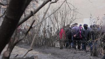История сквера у музея Достоевского. Зеленую зону исключили из списка ЗНОП
