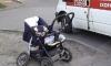 На Васильевском острове сбили женщину с двумя детьми и коляской