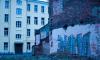 Уличный художник Леша Бурстон посвятил новый стрит-арт петербургской зиме