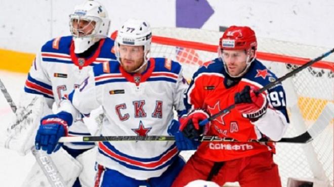 СКА обыграл ЦСКА в выездном матче КХЛ