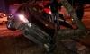 Седан протаранил дерево на Непокоренных: у автомобиля оторвало крышу, есть пострадавшие
