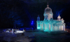 В Рускеальском провале построили ледяную копию Исаакиевского собора