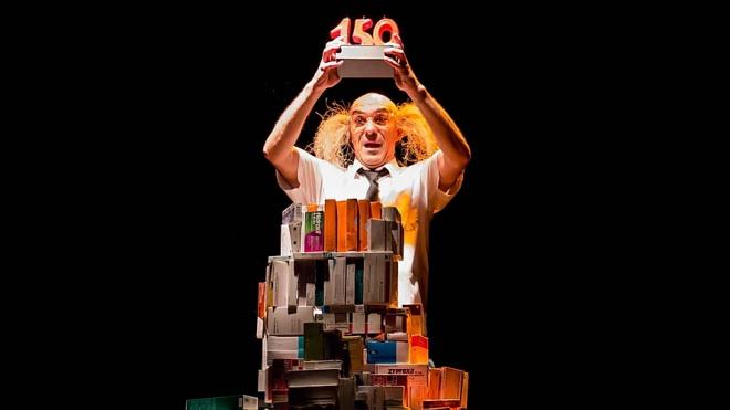 Спектакль ANIVERSAURIO 2120 клоуна Карло Мо