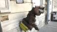 Вандалы испортили скульптуру кота Василия в Петербурге