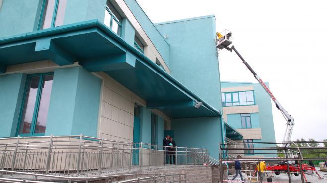 В Стрельне достроили поликлинику для взрослых и детей