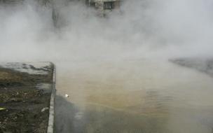 Прорыв теплотрассы сорвал занятия в петербургской школе