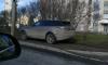 Петербуржцев возмутила парковка в неположенном месте на Ленинском проспекте