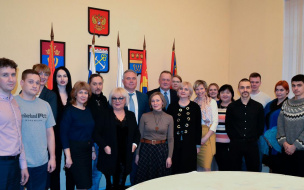 Руководители Выборгского района пообщались с представителями СМИ