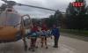 Санавиация доставила двух мужчин из Ленинградской области в тяжелом состоянии в больницу