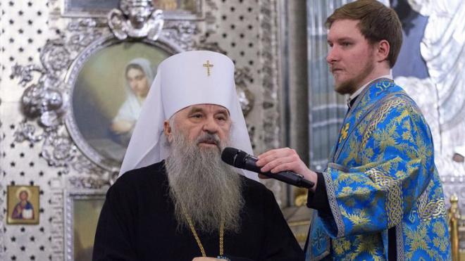 Александр Беглов поздравил с юбилеем митрополита Варсонофия