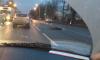 На Московском шоссе маршрутное такси сбило перебегающего дорогу пешехода