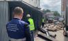 Смольный ликвидировал нелегальный рынок в Невском районе