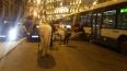 Автобус раздавил карету на Малой Морской. Лошадь не пост...