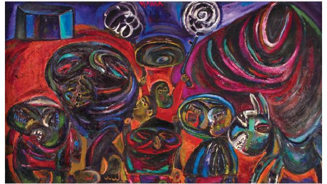 Выставка азербайджанских художников