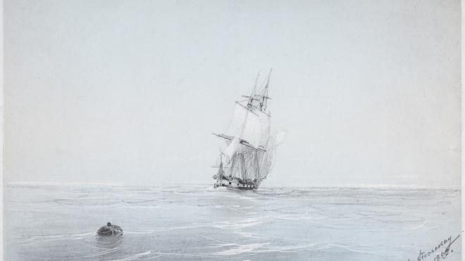В Кронштадте покажут малоизвестные работы Айвазовского