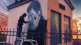 """В Петербурге появилось граффити актера из фильма """"Довлат..."""
