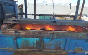 Сотрудники Россельхознадзора сожгли 44 кг сыра из Евросоюза