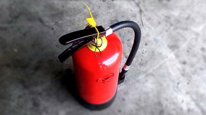 Десятиклассники Выборга узнали, как быстро потушить возникающий пожар и не дать ему разгореться