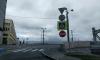 """Сила ветра """"запретила"""" движение по Большеохтинскому мосту"""