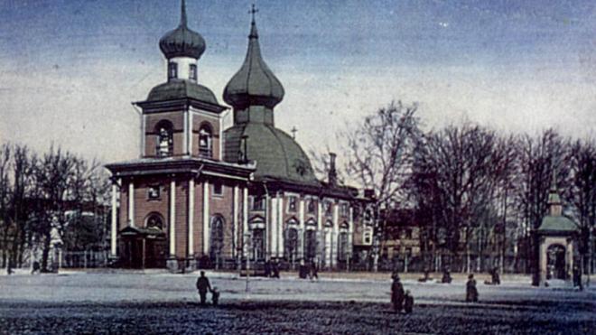 В Петербурге появился памятный знак в честь Троице-Петровского собора