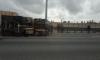 Из-за ДТП с перевертышем пожарные перекрыли участок КАДа
