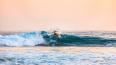 У берегов Крыма серфингиста унесло в открытое море