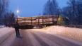"""В Ленобласти """"Лада Гранта"""" попала подгружёный лесовоз: ..."""