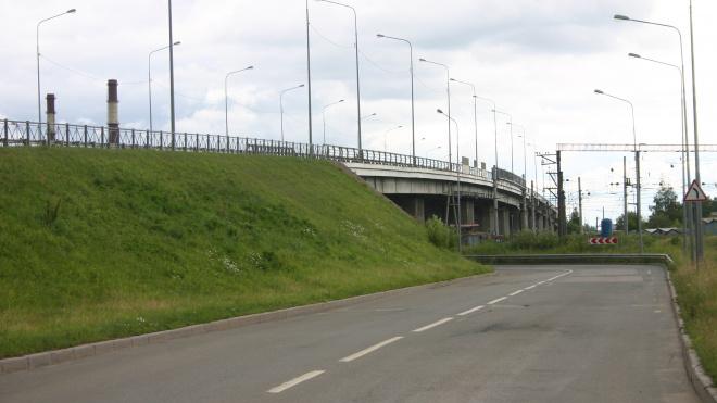 На Ручьевском путепроводе ограничат движения из-за замены асфальта