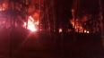В подмосковном Красногорске всю ночь горели склады ...