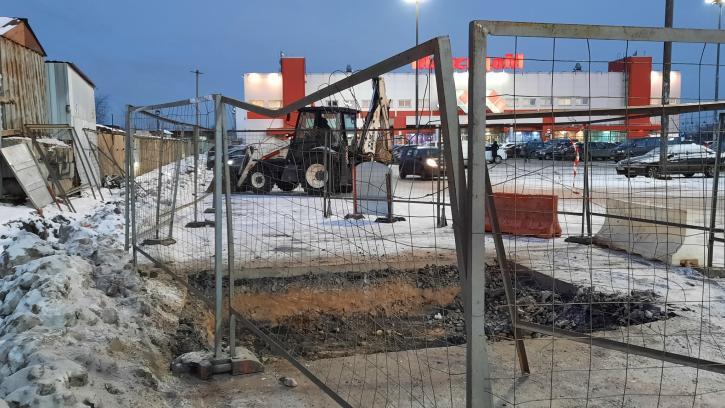 """ГАТИ оштрафовала """"Водоканал"""" за самовольные земляные работы"""