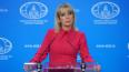 """Захарова ответила на заявление о """"завербованном российском ..."""