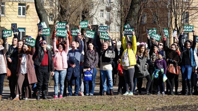 Защитникам парка Интернационалистов отказали в референдуме
