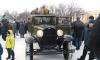 Военная техника времен блокады Ленинграда проехала по центру Петербурга