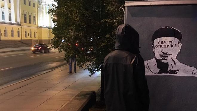 """На Сенатской площади появился Беглов в образе из """"Бриллиантовой руки"""""""