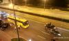 Ночью на Московском проспекте столкнулись автобус, Lamborghini и два BMW