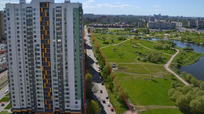 Беглов предложил урезать парк Интернационалистов почти на гектар ради Южного шоссе
