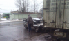 "Очевидцы: на Благодатной улице Opel ""ушел под фуру"""