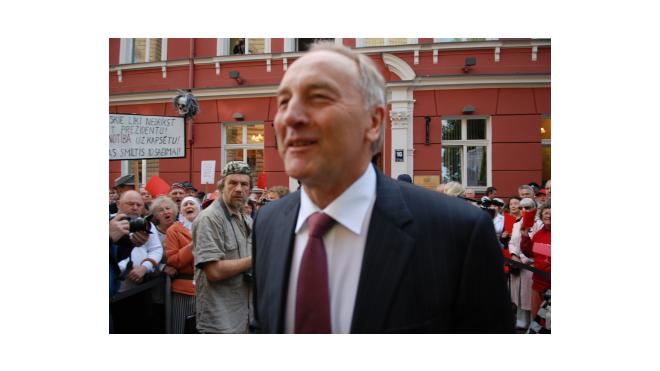 Банкир Андрис Берзиньш стал новым президентом Латвии