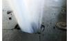 Три дома на Придорожной аллее остались без отопления из-за прорыва трубы