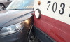 ДТП с трамваем забило дороги в Невском районе