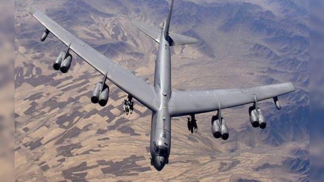 Рядом с Петербургом пролетели стратегические бомбардировщики США