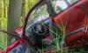 В Красном селе из горящего такси прохожие вытащили потерявшего сознание водителя